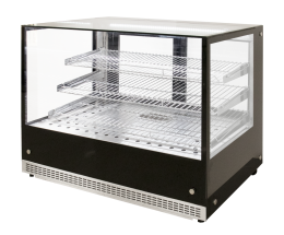 Airex Countertop Heated Square Food Display AXH.FDCTSQ.07 - 900mm Wide