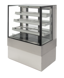 Airex Freestanding Heated Square Food Display AXH.FDFSSQ.09 - 900mm Wide