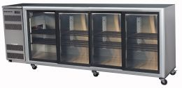 Skope BB780-4SL: four sliding door chiller SELF CONTAINED