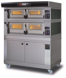 MORETTI FORNI Double deck Electric modular Bakery Oven Series P with Dual Chamber with Prover - COMP P120E C/2A/L
