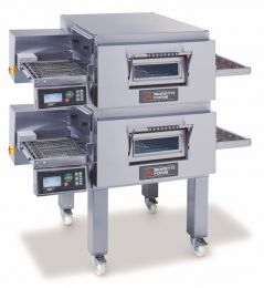 MORETTI FORNI Double deck Gas Conveyor Oven T Series - COMP T75G/ 2 Gas