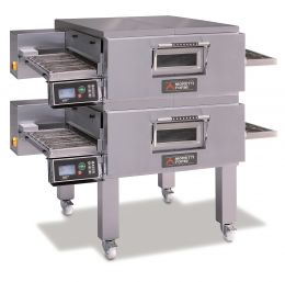 MORETTI FORNI Double deck Gas Conveyor Oven T Series - COMP TT98G/ 2 Gas