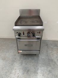 Garland 600mm WIDE RESTAURANT SERIESGRIDDLE WITH SPACE SAVER OVEN GF24