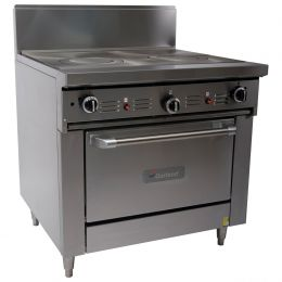 Garland 900mm WIDE RESTAURANT SERIES TARGET TOPRANGE WITH CONVECTION OVEN (NG & LP) GFE36-TTC