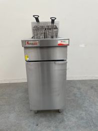 Comcater RCF4-NG Trueheat RC Series Gas Deep Fryer
