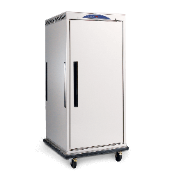 Mobile Banquet Cart -16 Tray Upright Mobile Heated Cabinet - 10 Amp