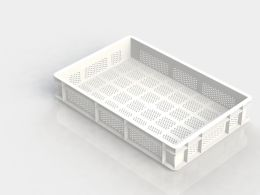 PERFORATED PIZZA TRAY 100MM DEEP