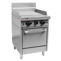 Trueheat RCR9-9G: oven with griddle 900mm (NG or LP gas)