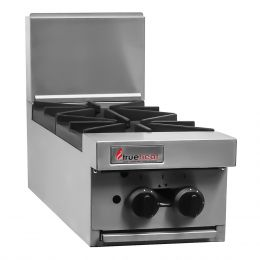 Trueheat RCT3-2: two open top burners (LP or NG gas)