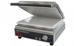 WOODSON Contact Grill  - Ribbed Aluminium Plates - W.CT6R