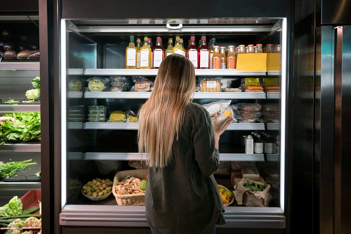 What to consider when purchasing open or glass door display fridges